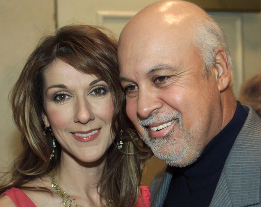 Muere el marido de Céline Dion