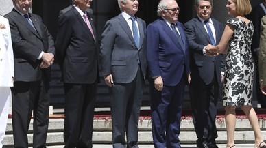 """Cospedal: """"L'Exèrcit està per garantir la sobirania d'Espanya i defensar la seva integritat territorial"""""""