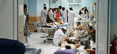 EEUU mata a 19 civiles en un hospital de MSF en Afganist�n