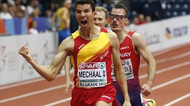 Mechaal campió d'Europa de 3.000 metres