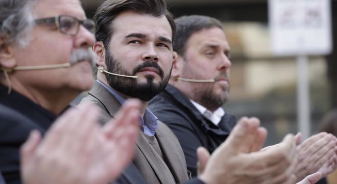 """ERC abomina d'una Constitució """"subscrita per feixistes"""""""