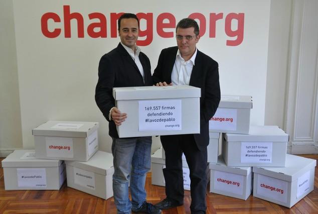 Las 12 causas del 2012 en Change.org