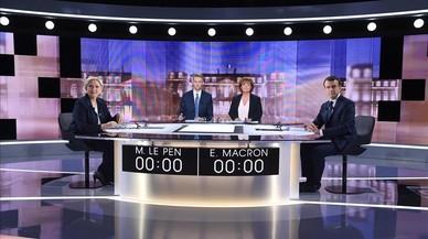 A la sombra de Mitterrand y Merkel