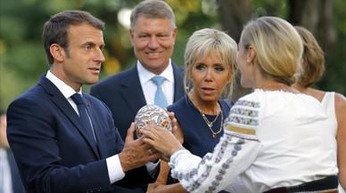 Macron busca endurecer la directiva europea de los trabajadores desplazados