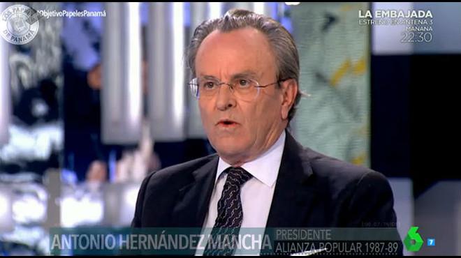 Hernández Mancha, als 'papers de Panamà'
