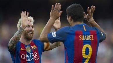 La hipnosi de Messi i el fuet de Suárez