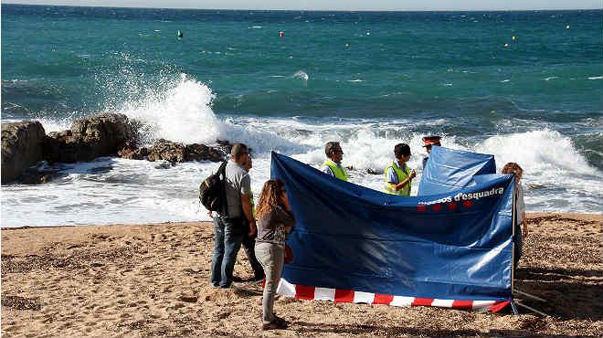 El concejal de Seguridad de Lloret de Mar, Josep Llu�s Llirin�s explica el suceso, as� como que est�n a la espera de la autopsia.