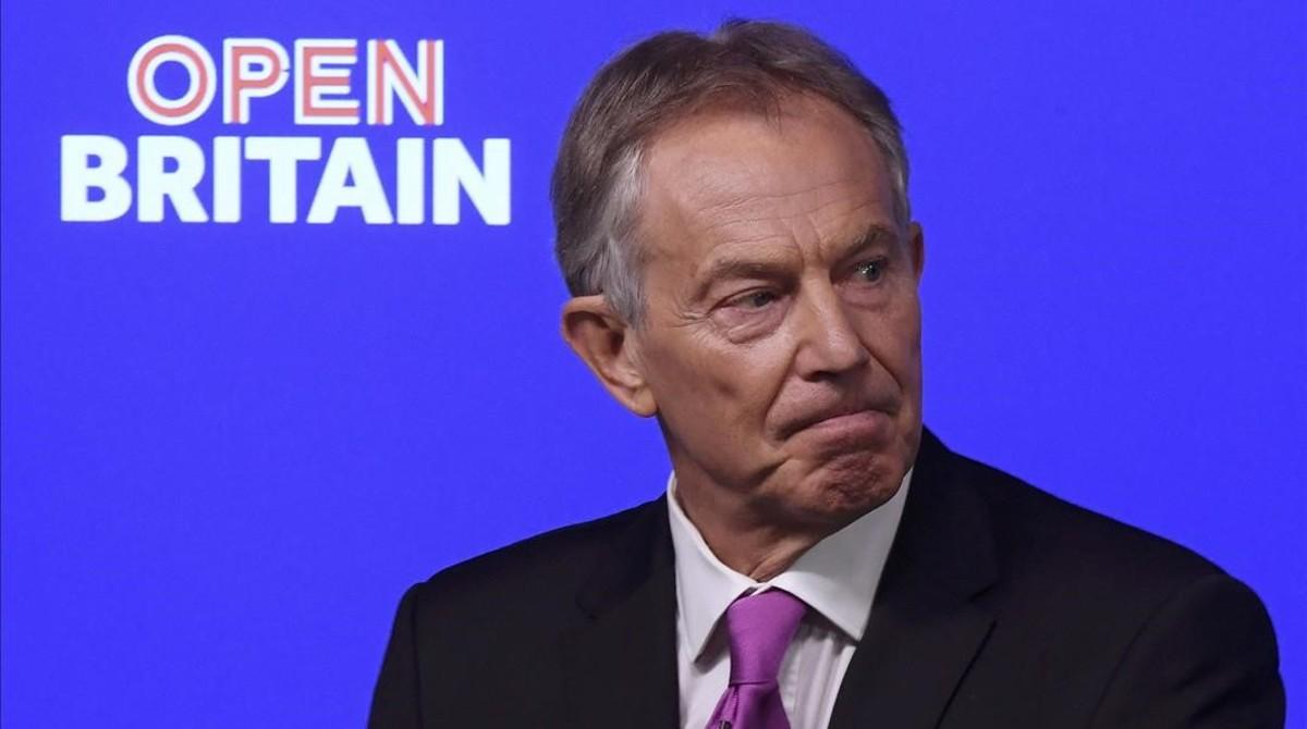 """Blair crida els britànics a """"aixecar-se"""" contra el 'brexit'"""