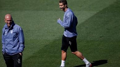 Zidane posa el rellotge a zero contra l'Atlètic