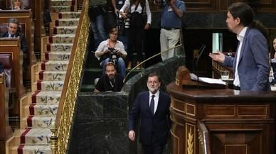 La simbiosi entre Rajoy i Iglesias