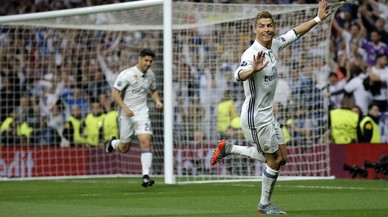 Ronaldo, sense pietat davant l'Atlètic