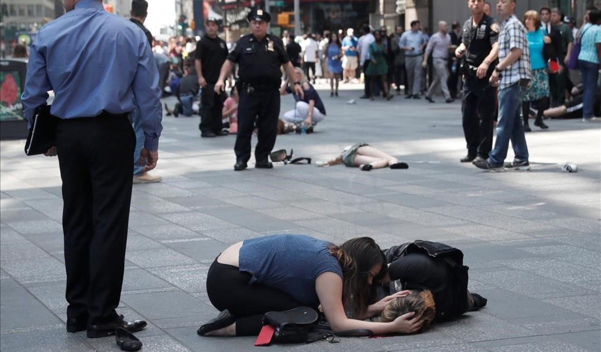 Terror, no terrorisme, a Times Square