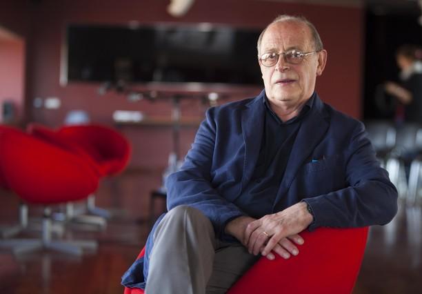 Antonio Tabucchi, en una fotografia de marzo del 2010. FERRAN NADEU