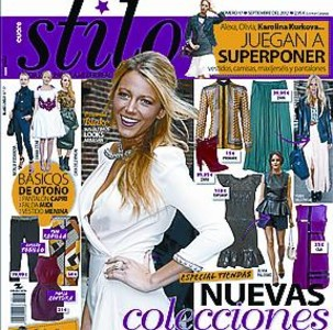 Blake Lively, portada de 'CuoreStilo'_MEDIA_1