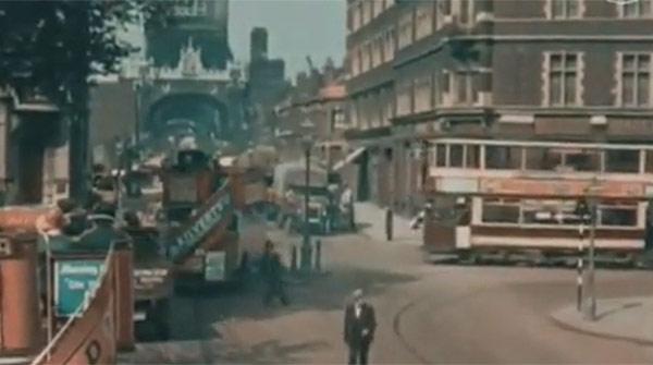 Londres en 1927, por Claude Frisse-Greene