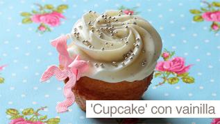 'Cupcake' con vainilla