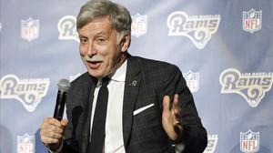 Stan Kroenke, máximo accionista del Arsenal y St Louis Rams.