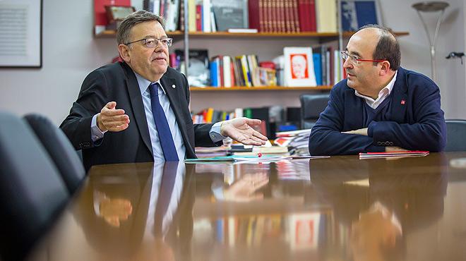 "Puig e Iceta piden abrir ""ya"" el 'melón' de la reforma constitucional"