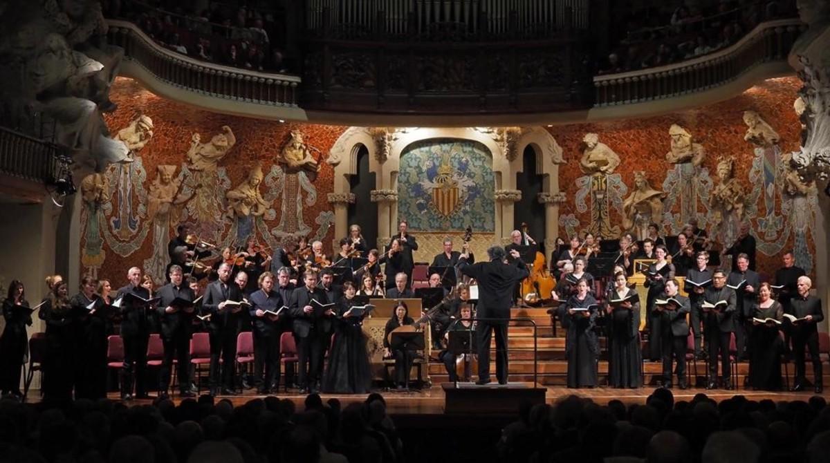 Magnífica 'Passió' de Bach al Palau amb René Jacobs