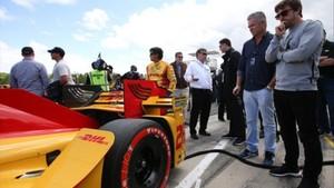Fernado Alonso en la Indycar