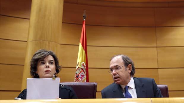 Sáenz de Santamaría: El procés és el pitjor episodi de deslleialtat en la història de la nostra democràcia