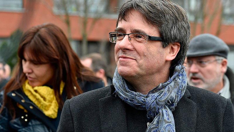 Ladvocat de Puigdemont veu probable que el detinguin a Dinamarca (CA)