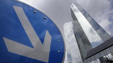 La sede central del Deutsche Bank, en Fr�ncfort.