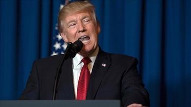 Trump juega al billar en Siria