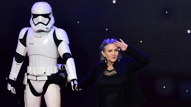 Carrie Fisher, en estat crític després de patir un atac cardíac