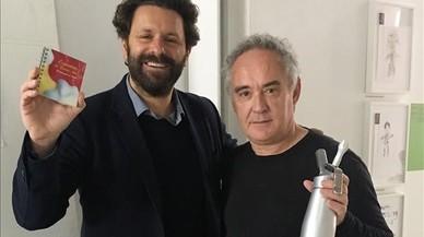 La revolució del sifó aplicat a la creativitat gastro compleix 20 anys amb Ferran Adrià