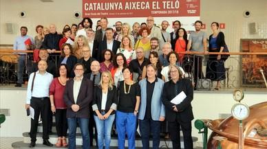 La mayoría de teatros catalanes suspenden sus funciones hoy