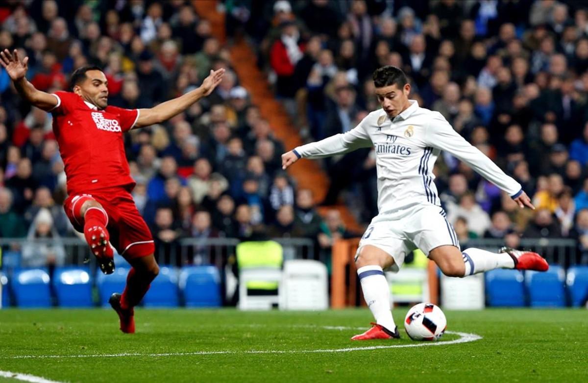 El madrid golea al sevilla sin sus estrellas for Madrid sevilla marca