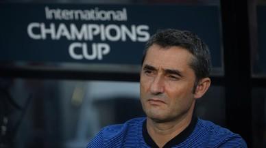 Valverde acaba content una altra vegada al batre el United