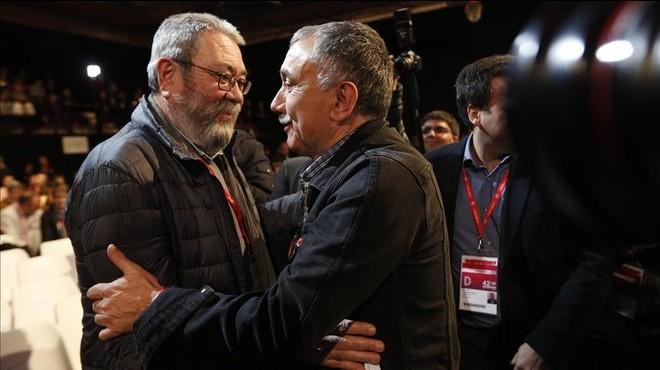 Álvarez, elegit secretari general de la UGT per l'estret marge de 17 vots