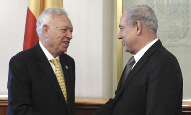 "Margallo anuncia que la decisi�n de abrir una oficina consular honoraria en Gaza est� ""congelada"""