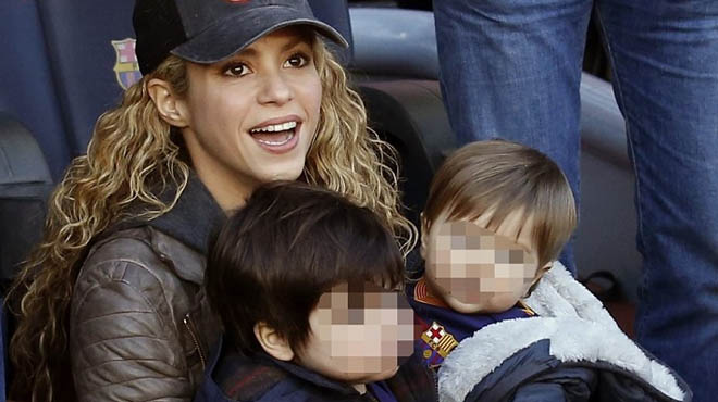 El hijo mayor de Shakira y Piqué, operado de amigdalitis.