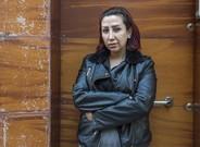 Noura Ghazi, durante una visita reciente a Barcelona, invitada por Amnistía Internacional.