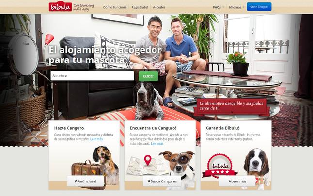 La plataforma online 'Bibulu' ofrece una alternativa a las residencias caninas