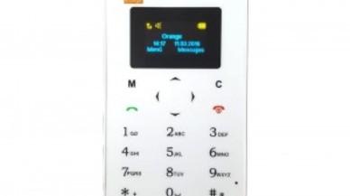 Orange lanza Card Phone, un teléfono mini para usar como segundo móvil
