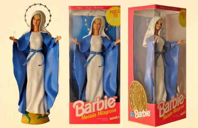 La 'Virgen Barbie'
