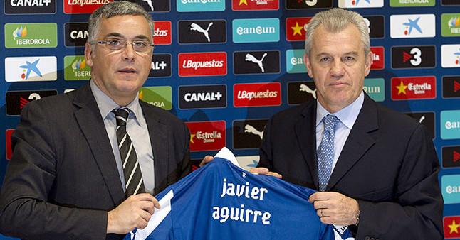 """Aguirre: """"Con la cabeza, el coraz�n y lo que sigue abajo, creo que nos salvamos"""""""