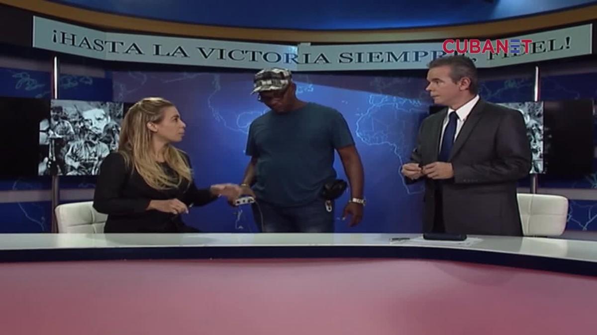 Un vídeo mostra com la televisió cubana ha prohibit dir 'bon dia' en senyal de dol
