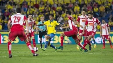 L'Espanyol pateix per puntuar a Las Palmas