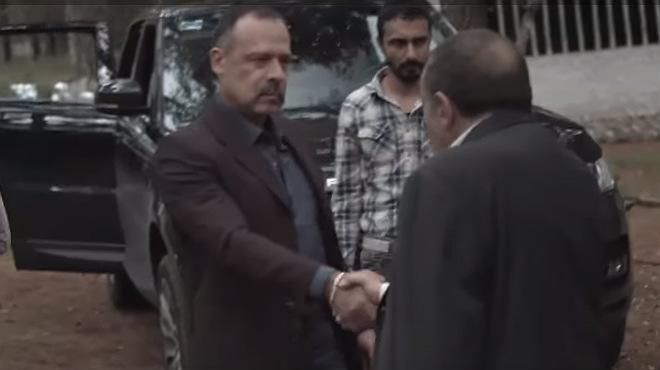 Imágen del trailer, donde se puede ver una de las escenas de acción que tendrá la película