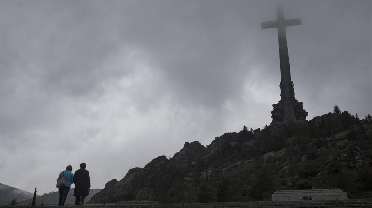 ERC pide sacar los restos de Franco del Valle de los Caídos