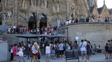 Espanya va rebre gairebé 46,9 milions de turistes estrangers fins al juliol