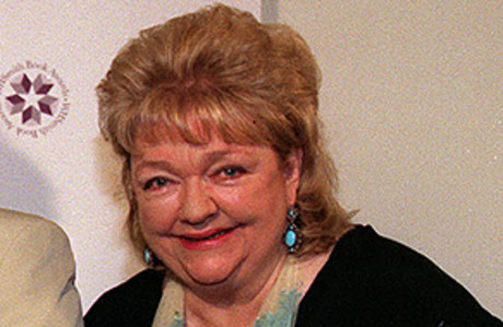 La escritora irlandesa Maeve Binchy. 