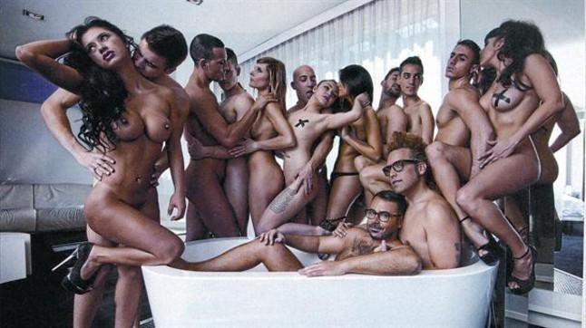Albergue y modelos desnudos