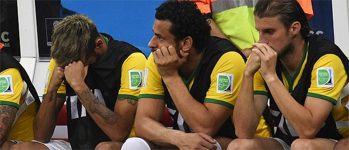 Brasil fracasa otra vez y se marcha humillada de su Mundial