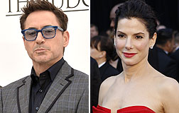 Robert Downey Jr. y Sandra Bullock